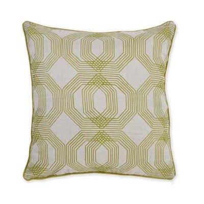Kosas Home Urban Origami Tokyo Embroidered Throw Pillow