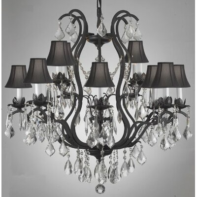 Versailles 12 Light Crystal Chandelier Product Photo