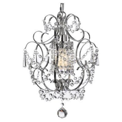 Harrison Lane Versailles 1 Light Crystal Chandelier T40 371