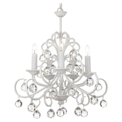 Harrison Lane Versailles 5 Light Crystal Chandelier T40 146