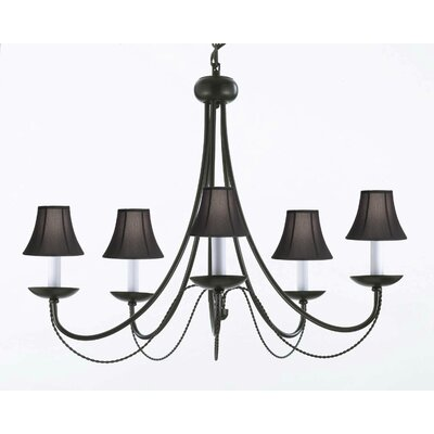 Harrison Lane Empress 5 Light Candle Chandelier T40 58