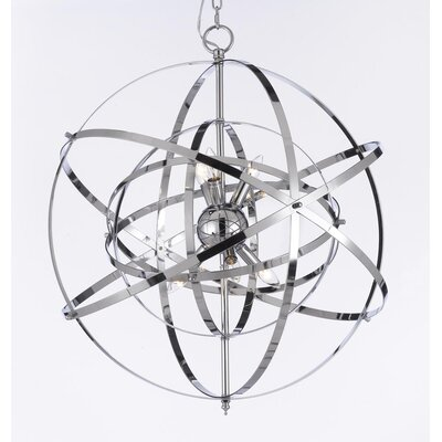 6 Light Candle Chandelier Product Photo