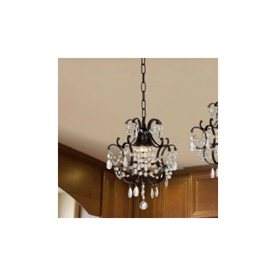 Versailles 1 Light Crystal Chandelier (Set of 2) Product Photo
