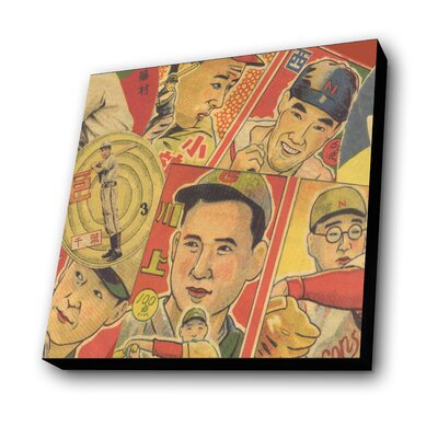 Japanese Baseball Painting Print by Lamp-In-A-Box