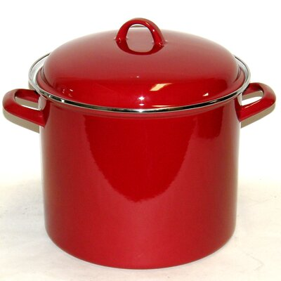 Dr. Cook 12-qt. Stock Pot with Lid by Prime Pacific