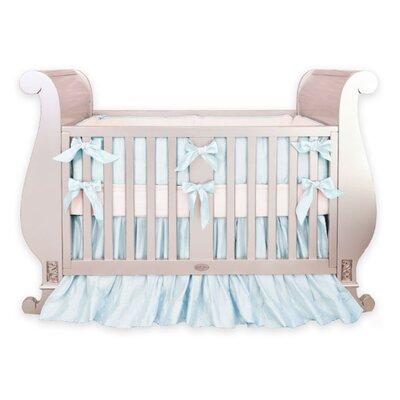 Silk 3 Piece Crib Bedding Set by Little Crown Interiors
