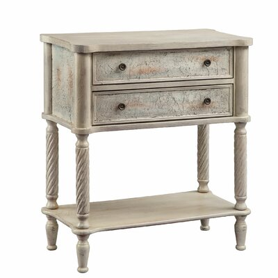 Bellamy 2 Drawer Side Table by Stein World