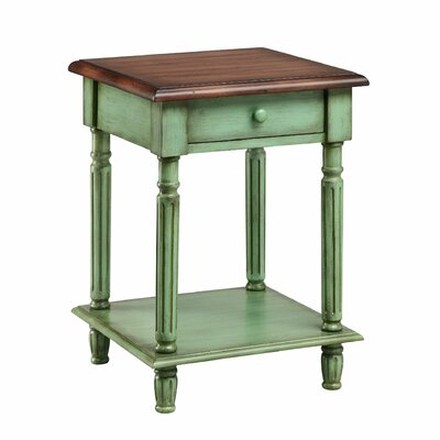 Emeric 1 Drawer End Table by Stein World