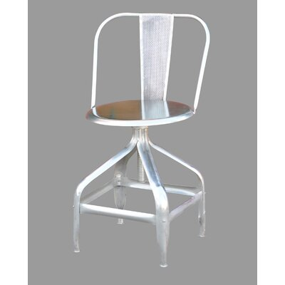 Ehlers Adjustable Height Bar Stool by Stein World