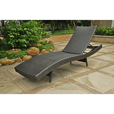 Barcelona Patio Chaise Lounge by International Caravan