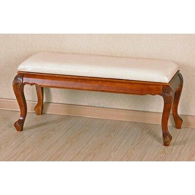 Windsor Wood Bedroom Bench by International Caravan