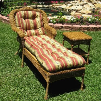 Lisbon Chaise Lounge Chair by International Caravan