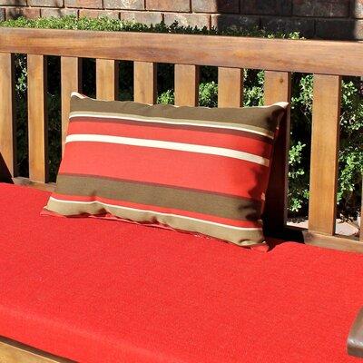 Blazing Needles Rectangular Outdoor Lumbar Pillow