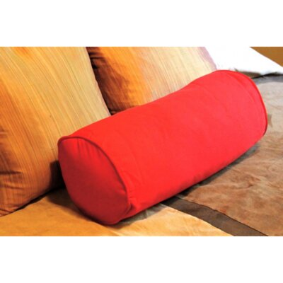 Blazing Needles Needles Solid Twill Bolster Pillow