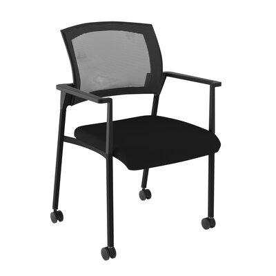 Speedy Mesh Mobile Chair with Arms by Compel Office Furniture