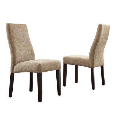 Kalani Wave Back Parsons Chair by Kingstown Home