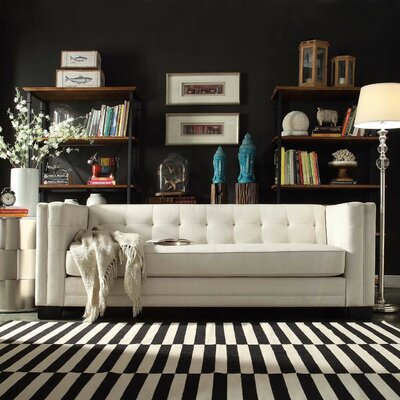 Corvin Square Tufted Sofa by Kingstown Home