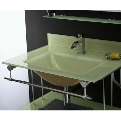 Hembry Creek Vanity Top with Square Bowl