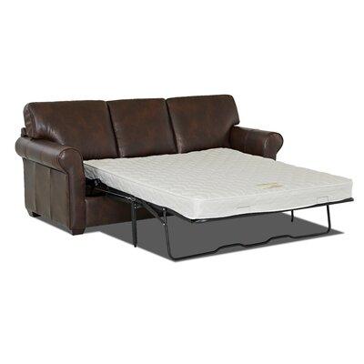 Rachel Leather Sleeper Sofa by Wayfair Custom Upholstery