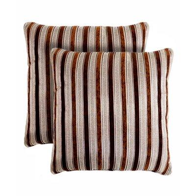 Vanity Stripe Throw Pillow by Pegasus Home Fashions