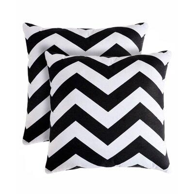 Rockford Zig Zag Throw Pillow by Pegasus Home Fashions