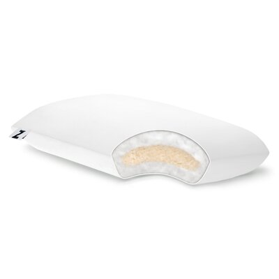 Shredded Talalay Latex with Gelled Microfiber Pillow by Malouf