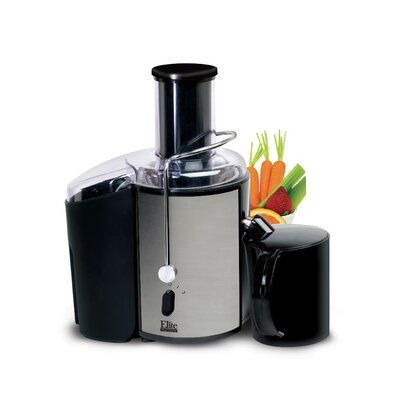 Platinum 2 Speed Whole Fruit Stainless Steel Juicer by Elite by Maxi-Matic