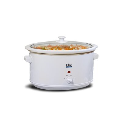 Cuisine 8.5-Quart Slow Cooker by Elite by Maxi-Matic