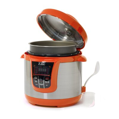 MaxiMatic EPC-808 Elite Platinum 8-Quart Pressure Cooker