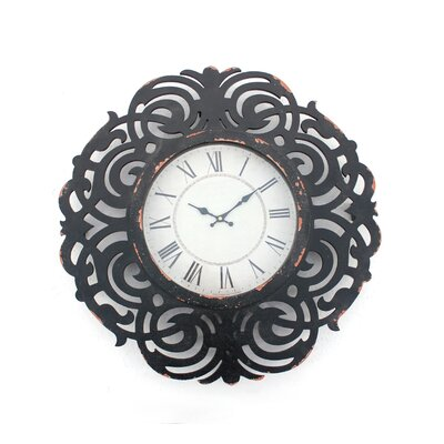 Wood Wall Clock by Teton Home