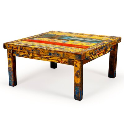 Hunky Dory Reclaimed Wood Coffee Table by EcoChic Lifestyles