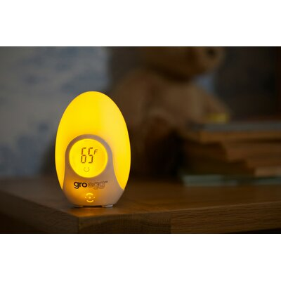 Egg Room Thermometer Night Light by The Gro Company