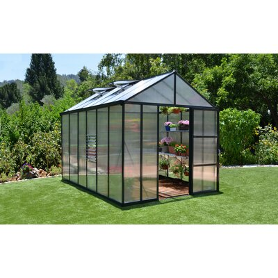Glory 8 Ft. W x 12 Ft. D Polycarbonate Greenhouse by Palram