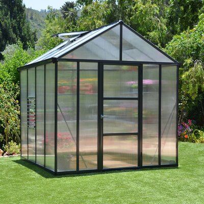 Glory 8 Ft. W x 8 Ft. D Polycarbonate Greenhouse by Palram
