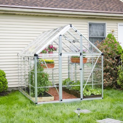 Snap and Grow 6 Ft. W x 8 Ft. D Polycarbonate Greenhouse by Palram