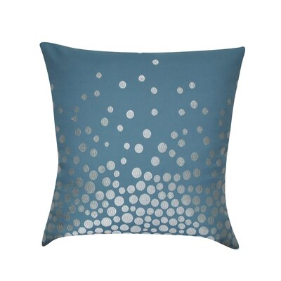 Fading Circles Decorative Throw Pillow by Loom and Mill