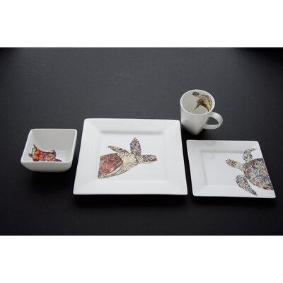 Turtle Dinnerware Set by Kim Rody Creations