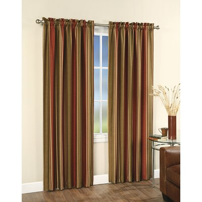 Stripe Single Curtain Panel Product Photo
