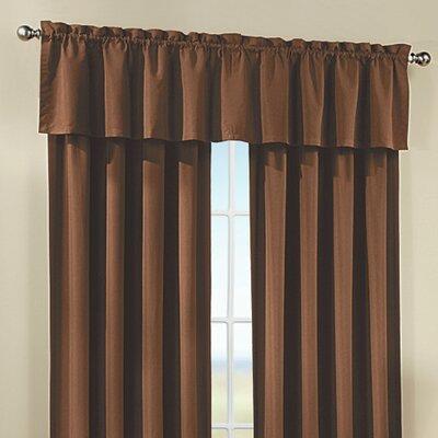 Peach Skin Tailored Curtain Valance Product Photo