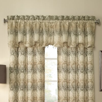 Elise Scalloped Curtain Valance Product Photo