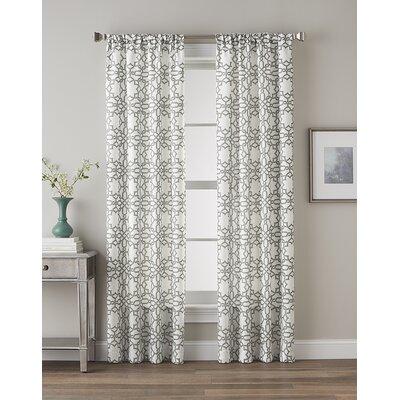 Lotus Harmony Curtain Panel Product Photo
