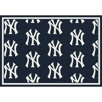 MLB Team Repeat New York Yankees Baseball Novelty Rug by Milliken