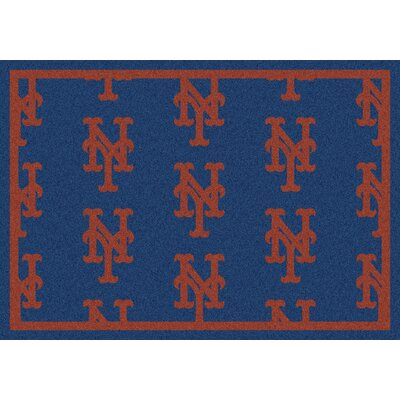 Milliken MLB Team Repeat New York Mets Baseball Novelty Rug