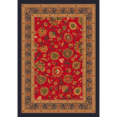 Pastiche Aydin Currant Red Rug by Milliken