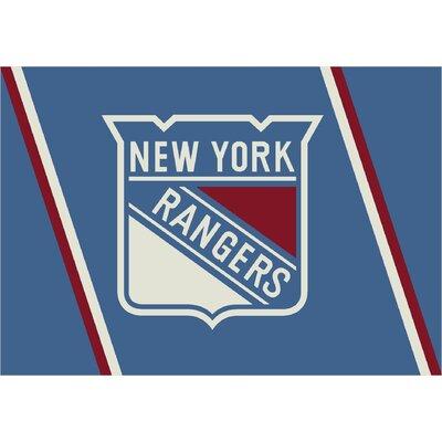 NHL New York Rangers 533322 2001 2xx Novelty Rug by Milliken