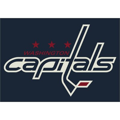 Milliken NHL Team Spirit Washington Capitals Novelty Rug