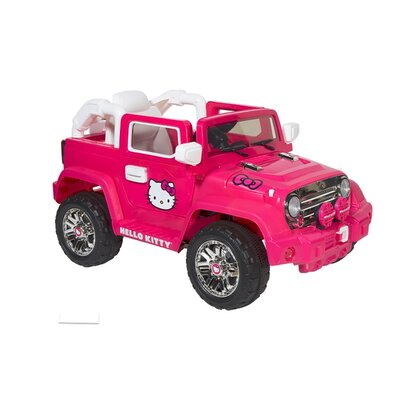 Hello Kitty 6V Battery Powered Jeep by Dynacraft