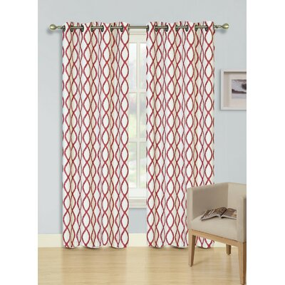 Harper Single Curtain Panel Product Photo