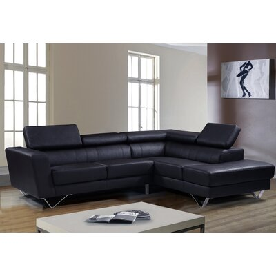Sophia Right Facing Sectional by Brady Furniture Industries