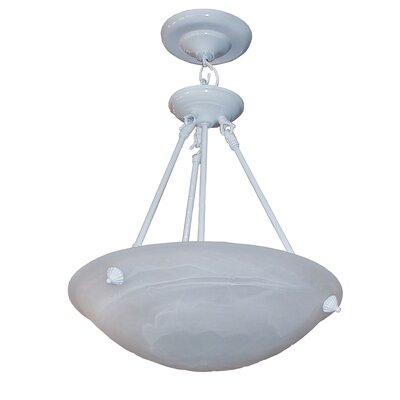 Alana 3 Light Bowl Chandelier by Whitfield Lighting